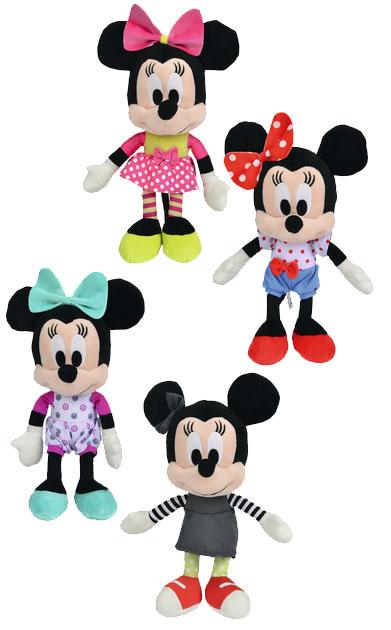 Minnie Mouse Plush Figures I Love Minnie 25 cm (Set da 4)
