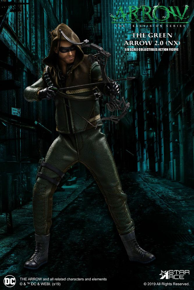 Arrow Real Master Series Action Figure 1/8 Green Arrow 2.0 Normal Version 23 cm