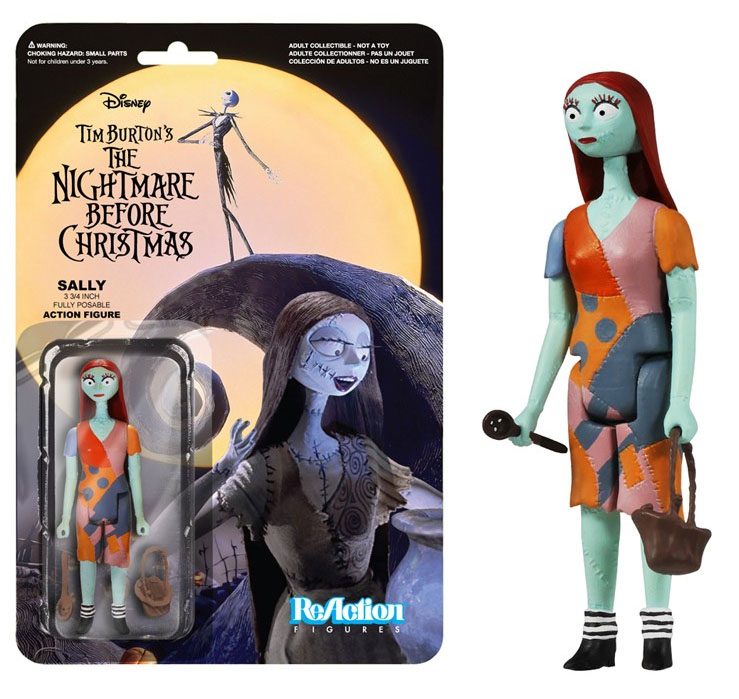 Nightmare Before Christmas ReAction Action Figure Sally 10cm