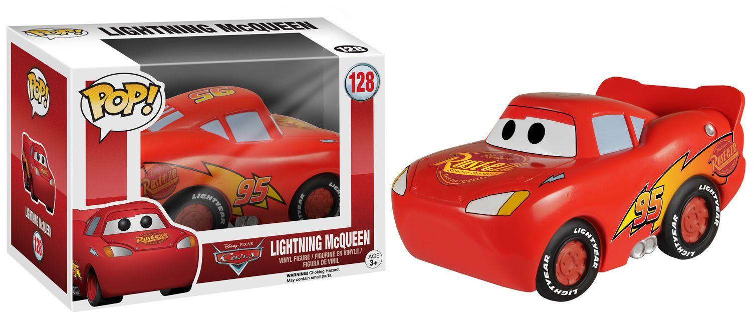 Cars POP! Disney Vinyl Figure Lightning McQueen 9 cm