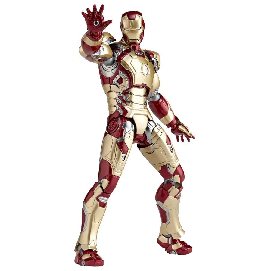 Iron Man Action Figure Sci-Fi Revoltech #49 Iron Man Mark XLII 16 cm