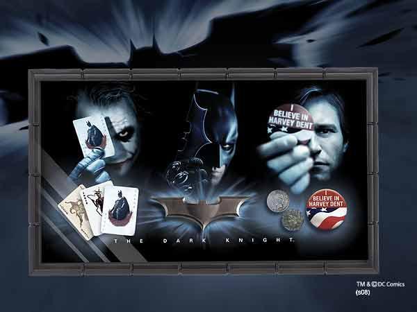 Batman The Dark Knight Prop Set