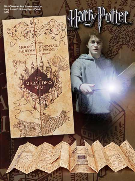 Harry Potter Replica 1/1 Marauder´s Map