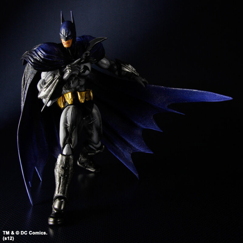 Batman Arkham City Play Arts Kai Action Figure Batman No. 1