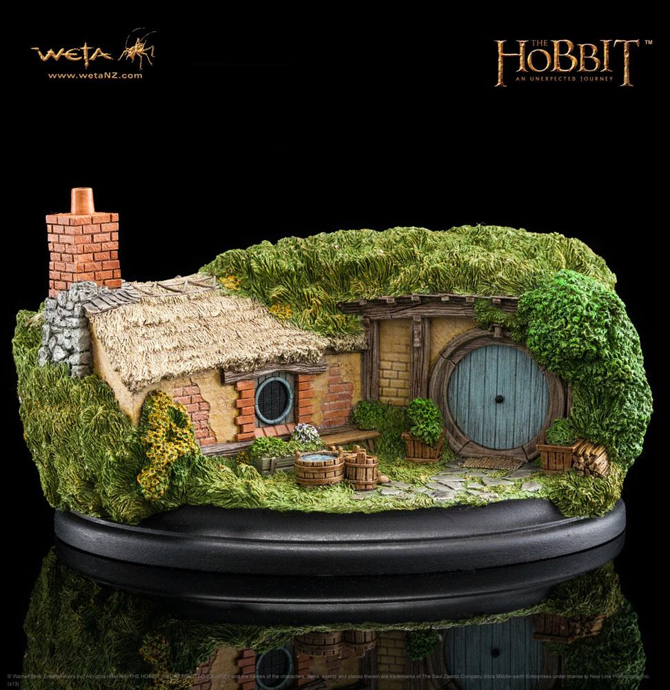 The Hobbit An Unexpected Journey Statue 35 Bagshot Row 7 cm
