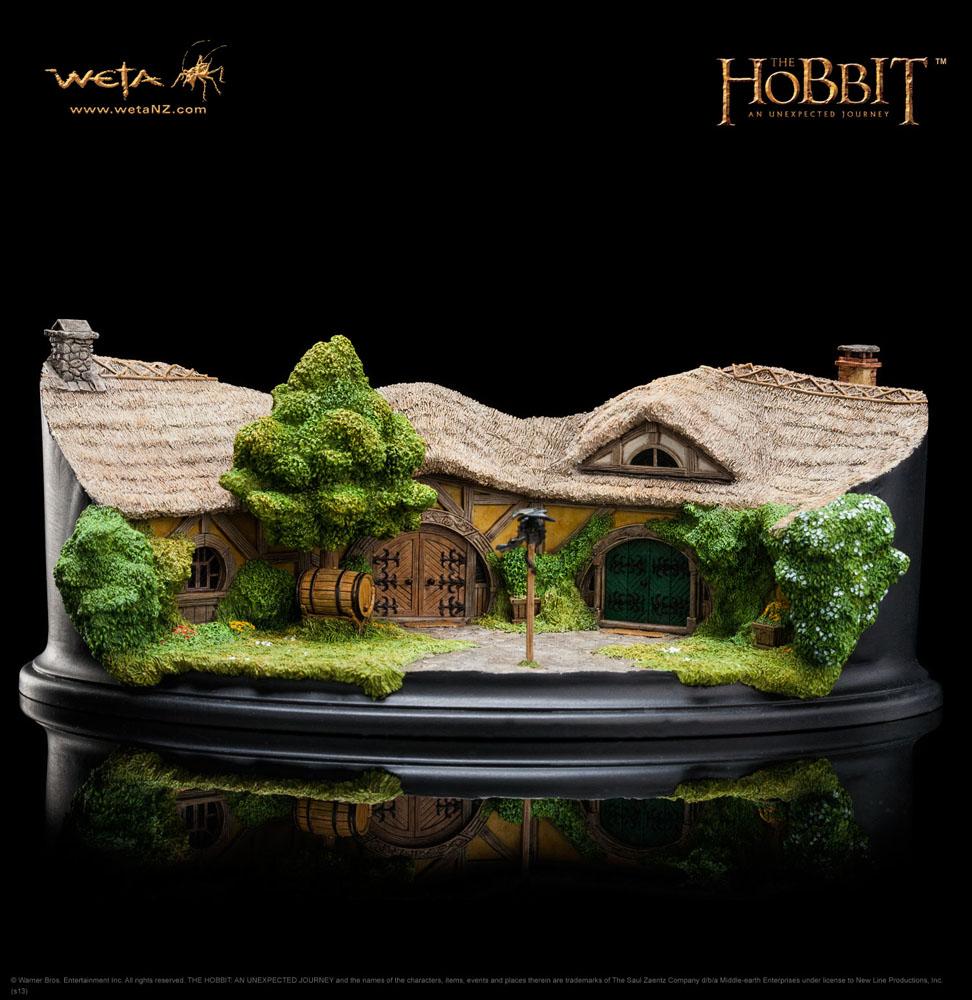 The Hobbit An Unexpected Journey Statue The Green Dragon Inn 9 cm