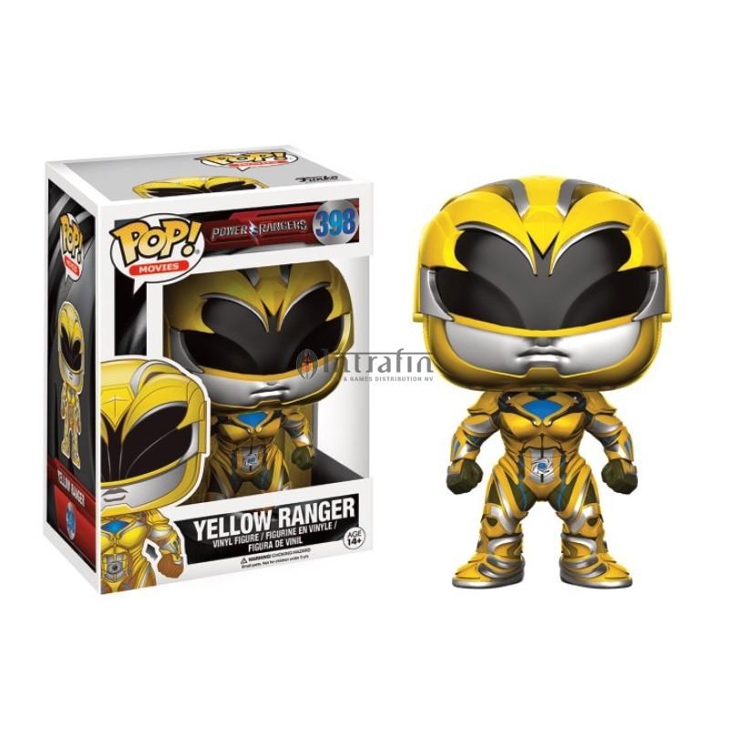 Power Rangers POP! Movies Vinyl Figure Yellow Ranger 9 cm
