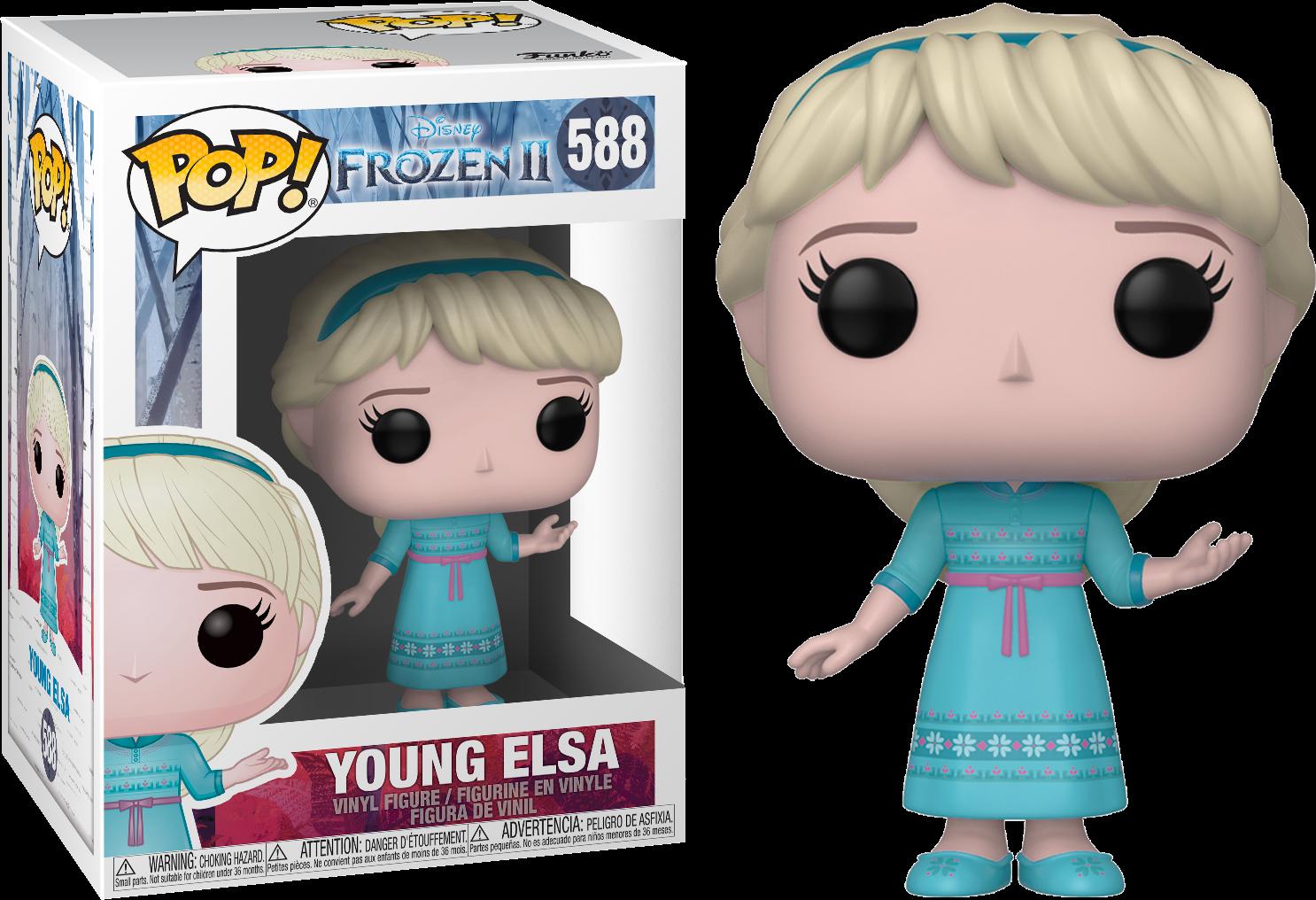 Frozen II POP! Disney Vinyl Figure Young Elsa 9 cm