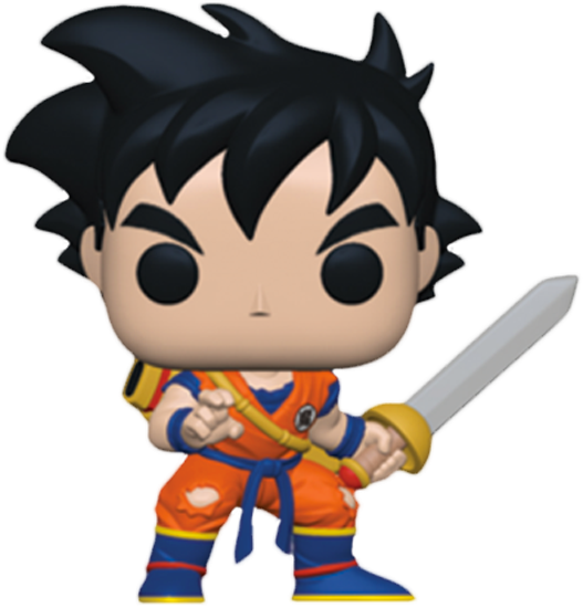 Dragonball Z POP! Animation Vinyl Figure Young Gohan with Sword Limited 9 cm (con bollino Special Edition)