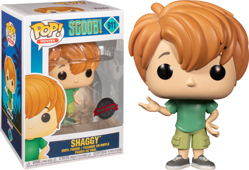 Scoob! (2020) POP! Vinyl Figure Young Shaggy  LImited 9 cm