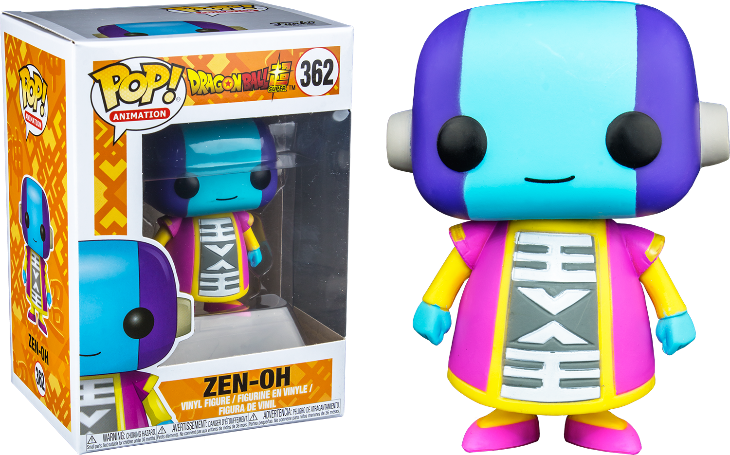 Dragonball Super POP! Animation Vinyl Figure Zen-Oh Limited 9 cm