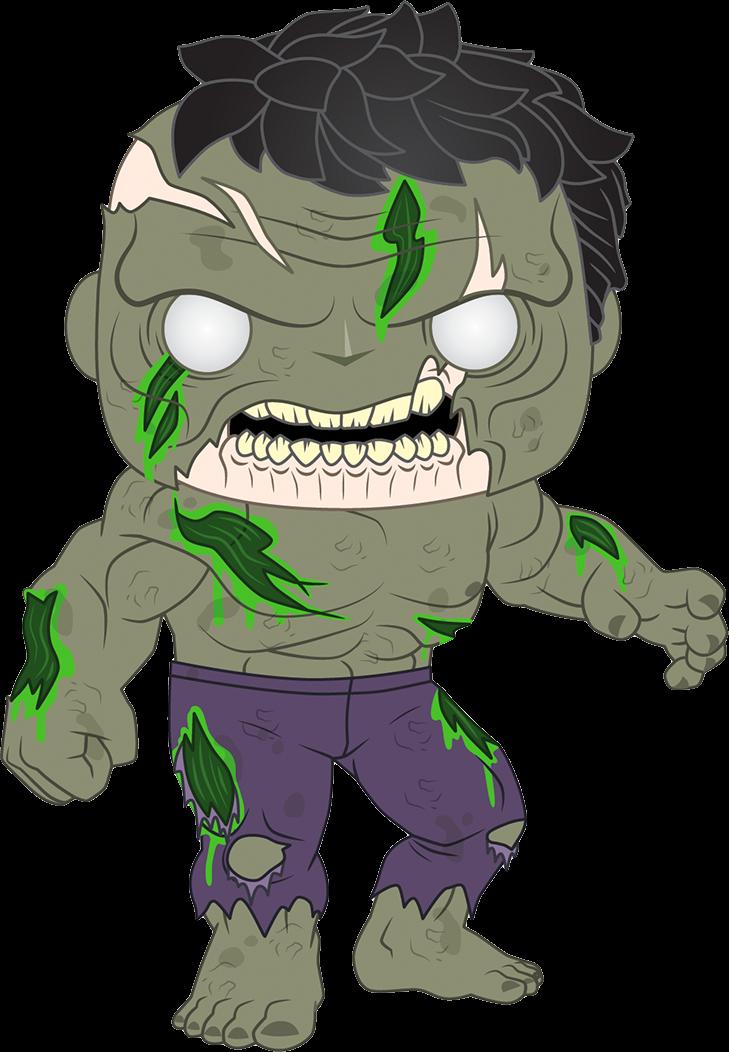 Marvel Zombies POP! Vinyl Figure Zombie Hulk 9 cm
