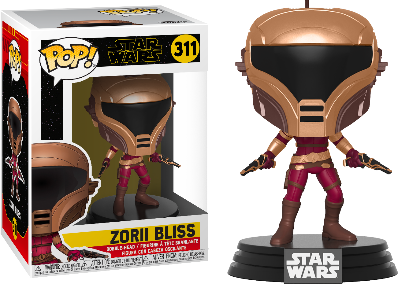 Star Wars Episode IX POP! Movies Vinyl Figure Zorii Bliss 9 cm