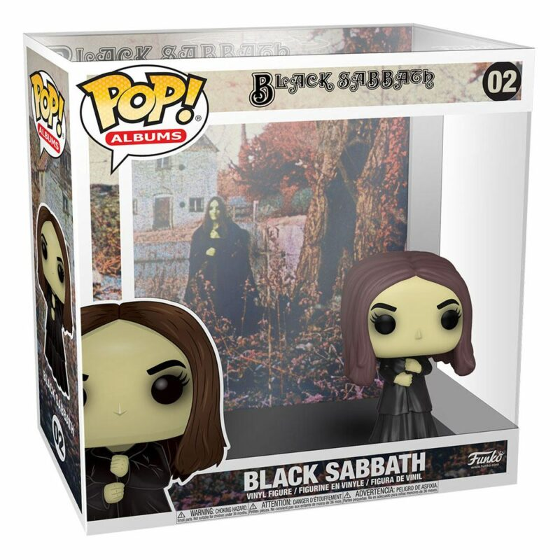 Black Sabbath POP! Albums Vinyl Figure Black Sabbath 9 cm