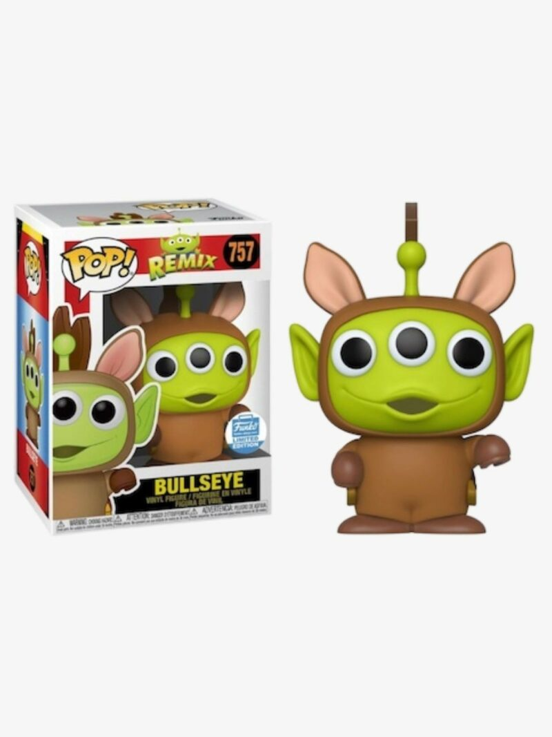 Pixar POP! Disney Vinyl Figure Alien Remix Bullseye Limited 9 cm