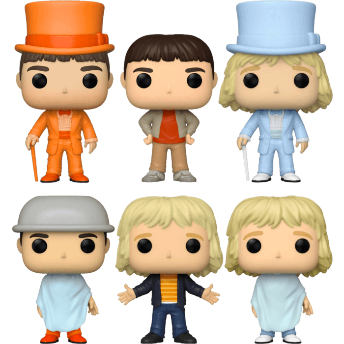 Dumb and Dumber - So You're Telling Me There's A Pop! Vinyl Bundle (Set of 6)