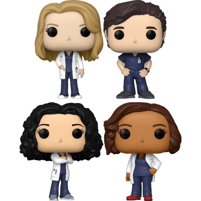 Grey's Anatomy - The McDreamiest Pop! Vinyl Bundle (Set of 4)
