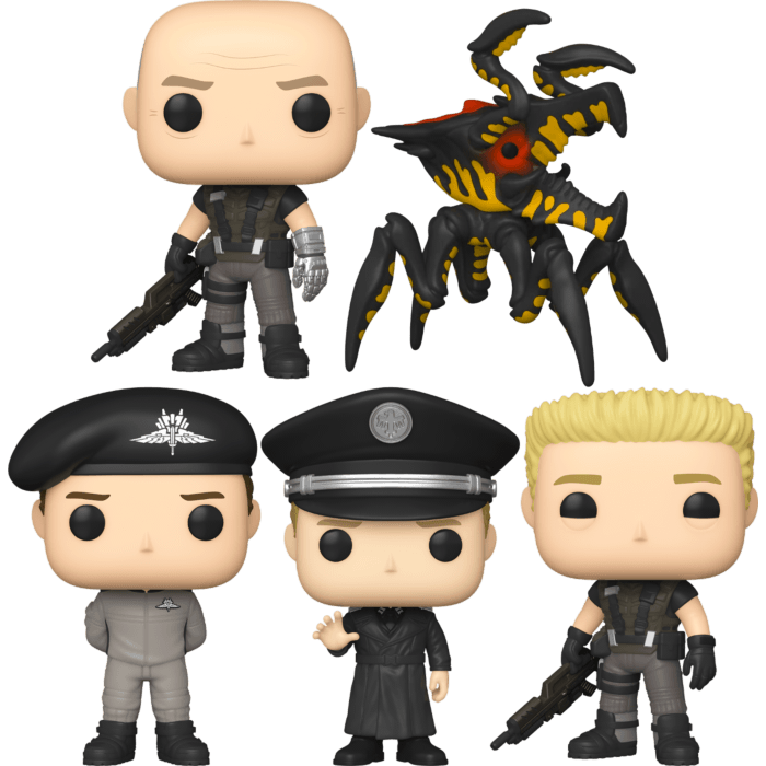 Starship Troopers - Would You Like To Pop More? Pop! Vinyl Bundle (Set of 5)