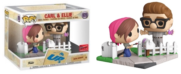 UP POP! Vinyl Figure Carl & Ellie Painting (2020 Fall Convention Exclusive)