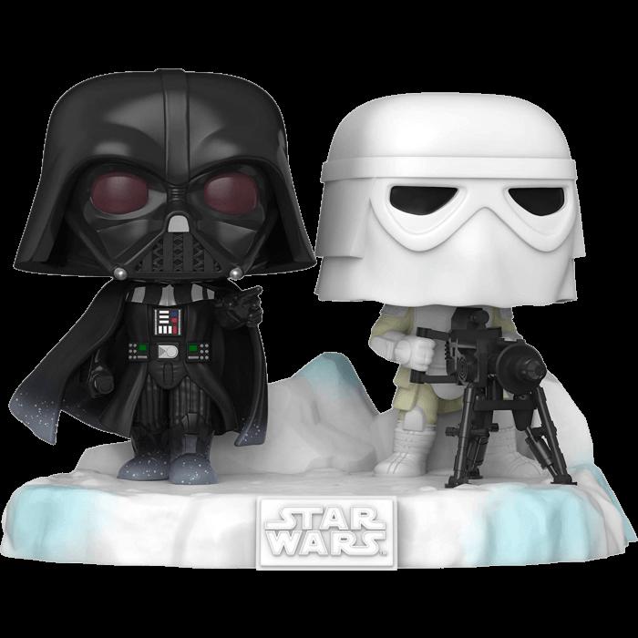 Star Wars Episode V: The Empire Strikes Back POP! Vinyl Figure Darth Vader & Stormtrooper Battle at Echo Base Deluxe