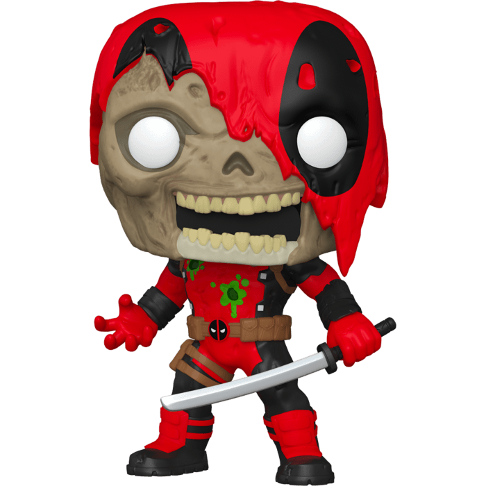 Marvel Zombies POP! Oversized Vinyl Figure Zombie Deadpool Limited  25 cm
