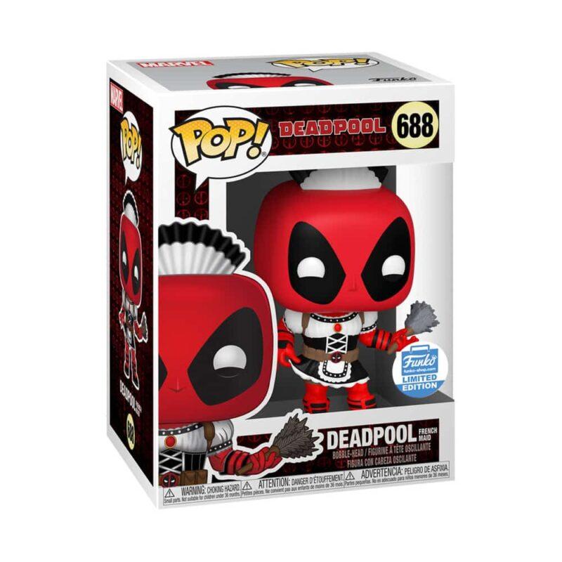 Deadpool POP! Marvel Vinyl Figure French Maid Deadpool Limited 9 cm