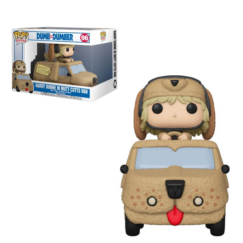 Dumb and Dumber POP! Rides Vinyl Figure Harry Dunne in Mutts Cutts Van 18 cm