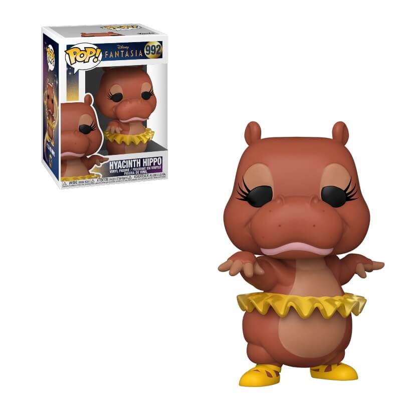 Fantasia 80th Anniversary POP! Disney Vinyl Figure Hyacinnth Hippo 9 cm