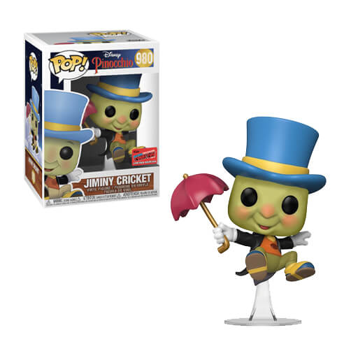 Pinocchio POP! Vinyl Figure Jiminy Cricket (2020 Fall Convention Exclusive)