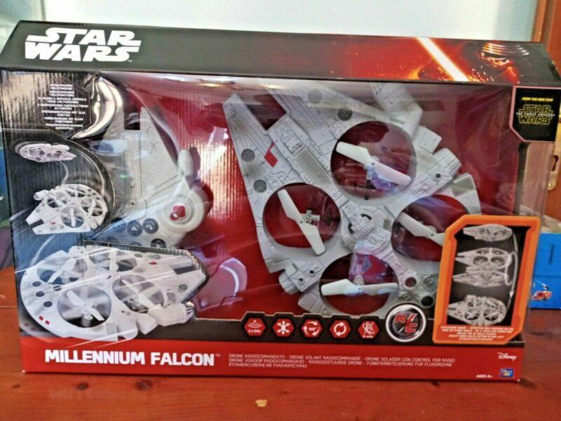 STAR-WARS-Radio-Control-Flying-Drone-MILLENIUM-FALCON Drone