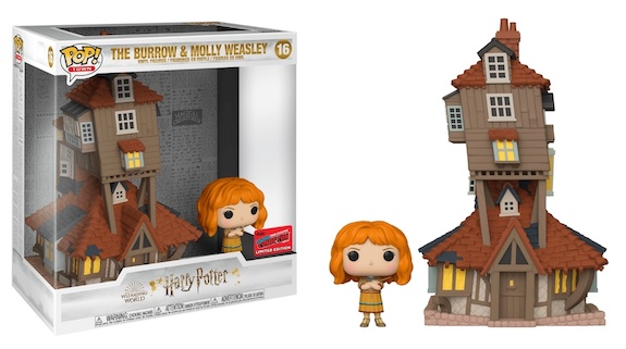 Harry Potter POP! Vinyl Figure The Burrow & Molly Weasley (2020 Fall Convention Exclusive)