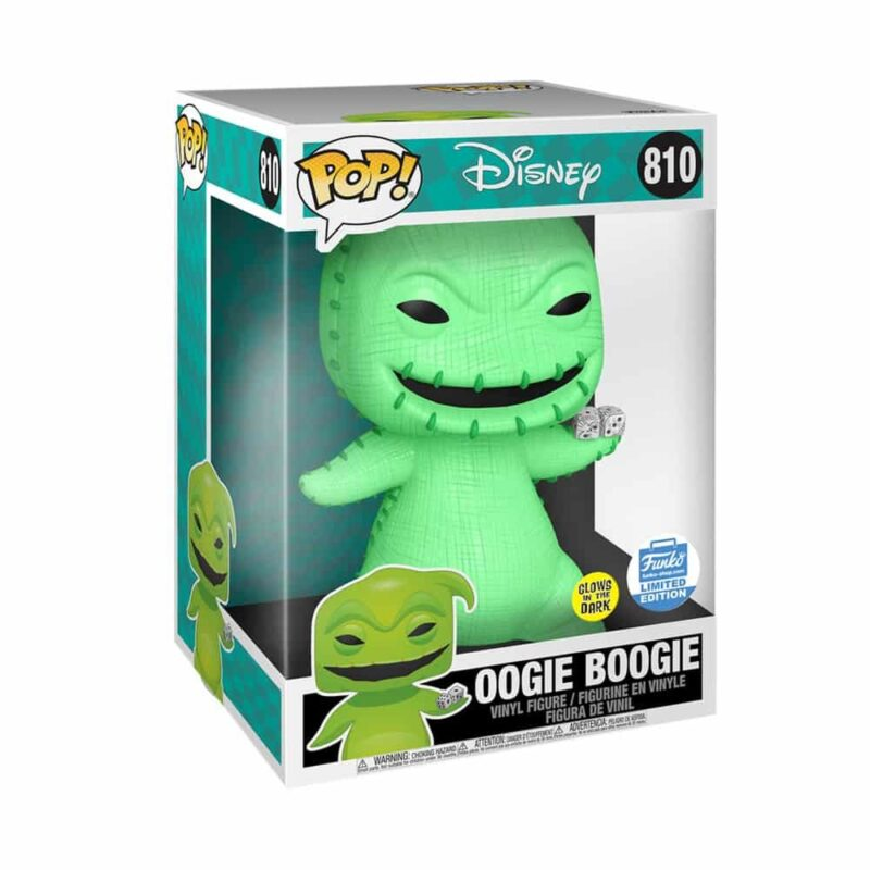 Nightmare before Christmas POP! Town Vinyl Figure Oogie Boogie Glow in the Dark Limited 25 cm