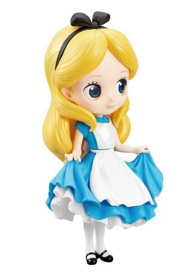 Disney Q Posket Alice Normal Color Version 14 cm