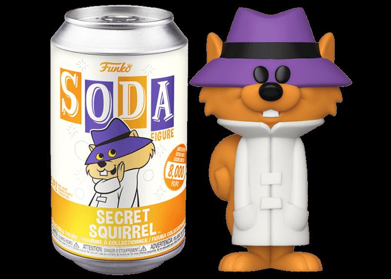 Hanna Barbera POP! Movies Vinyl SODA Figures Secret Squirrel 11 cm