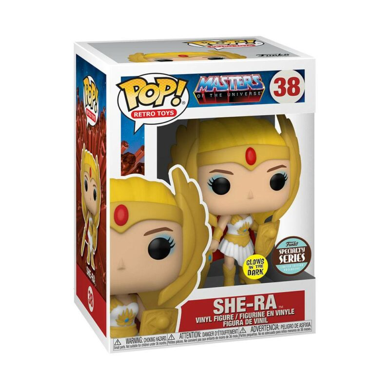Masters of the Universe POP! Disney Vinyl Figure Specialty Series Classic She-Ra Glow in the Dark 9 cm