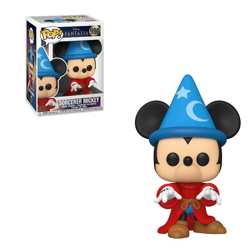 Fantasia 80th Anniversary POP! Disney Vinyl Figure Sorcerer Mickey 9 cm