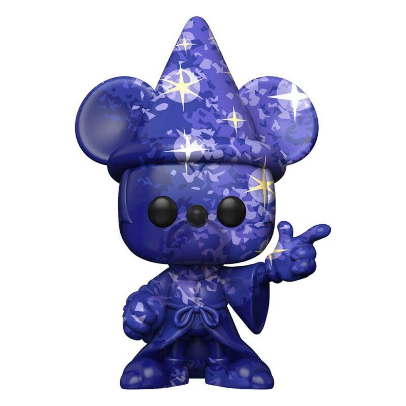 Fantasia 80th Anniversary POP! TV Vinyl Figure Mickey #1(Artist Series) w/Pop Protector 9 cm