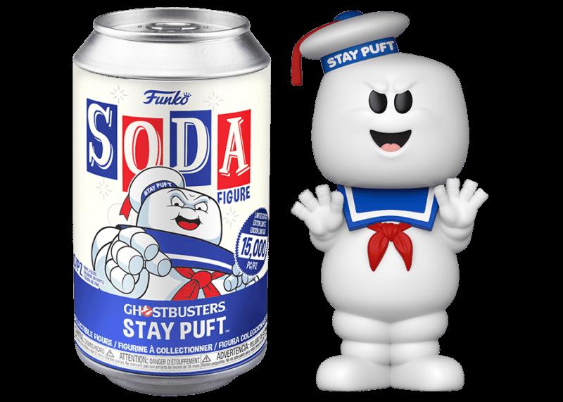 Ghostbusters POP! Movies Vinyl SODA Figures Stay Puft 11 cm