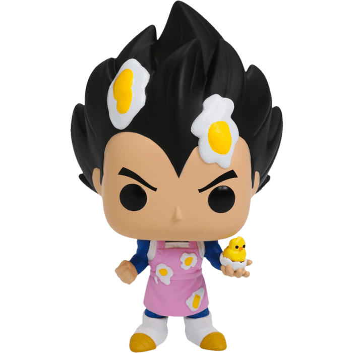 Dragon Ball Z POP! Vinyl Figure Vegeta Cooking with Apron Limited 9 cm