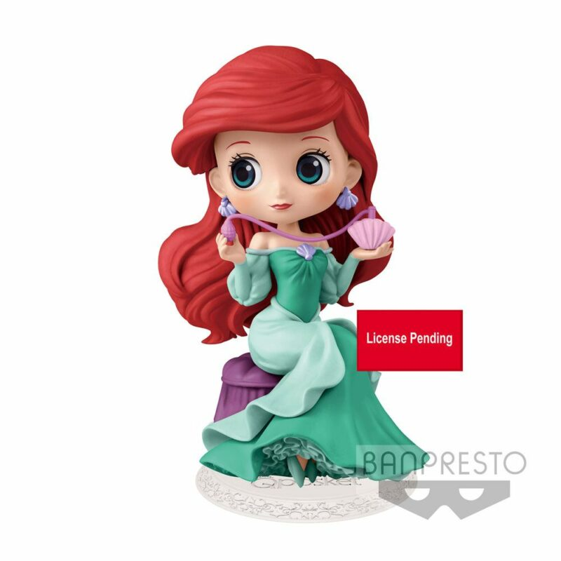 Disney Q Posket Perfumagic Mini Figure Ariel Version A 12 cm