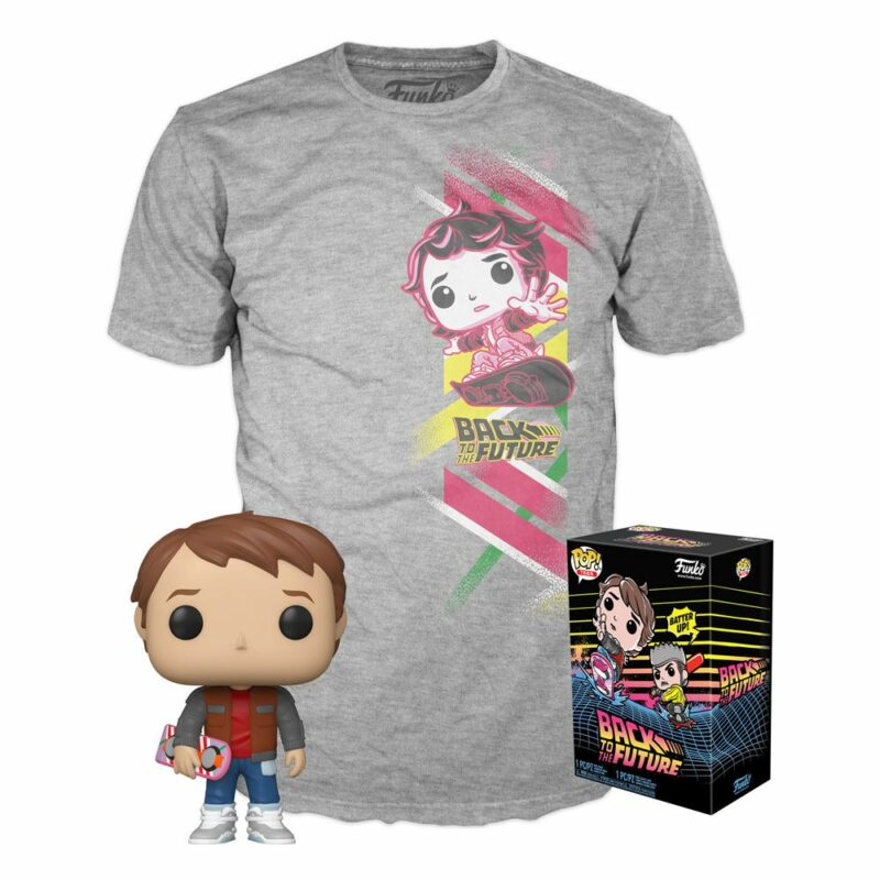 Back to the Future POP! & Tee Box Marty Exclusive
