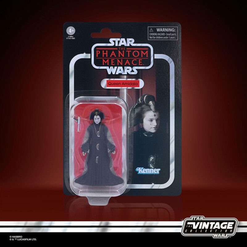 Star Wars Vintage Collection Wave 2 2021 Action Figure Queen Amidala (Episode I) 10 cm