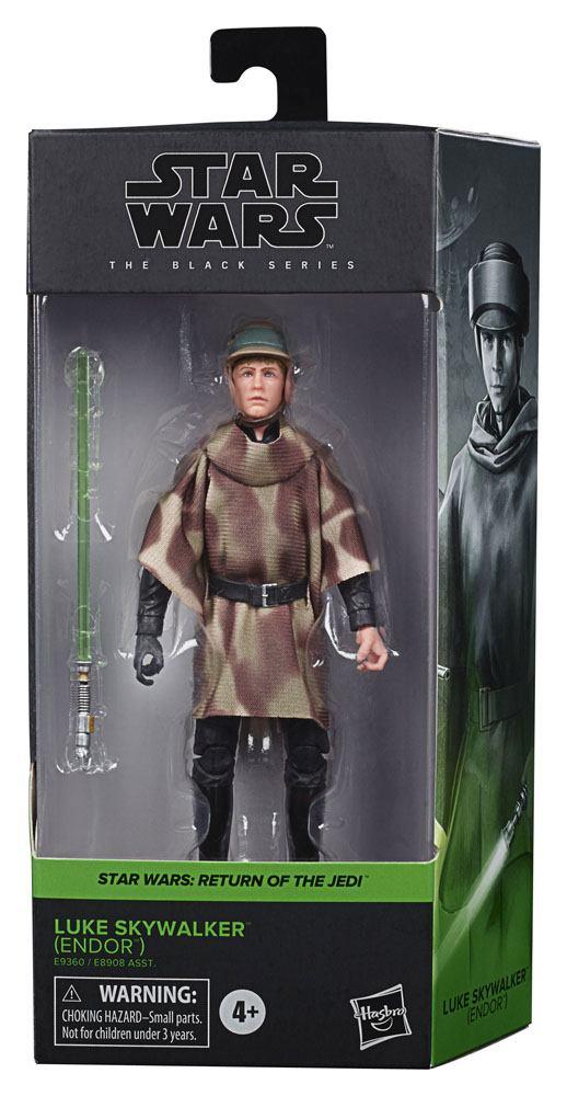 Star Wars Black Series Wave 4 2020 Action Figure Luke Skywalker (Endor) Episode VI 15 cm