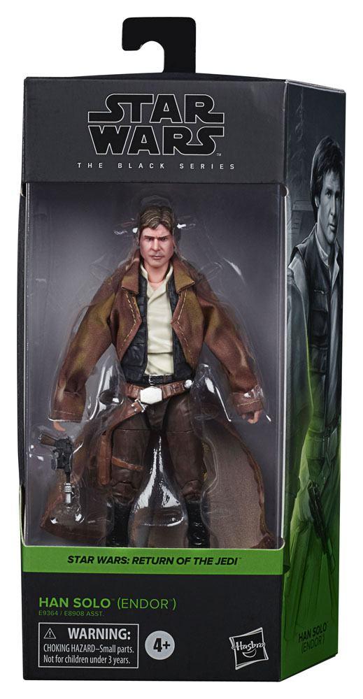 Star Wars Black Series Wave 4 2020 Action Figure Han Solo (Endor) Episode VI 15 cm