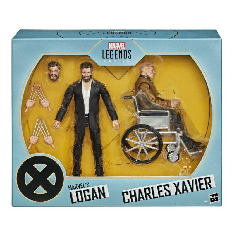 Marvel Legends Series Action Figure 2-Pack 2020 Marvel's Logan & Charles Xavier Exclusive 15 cm