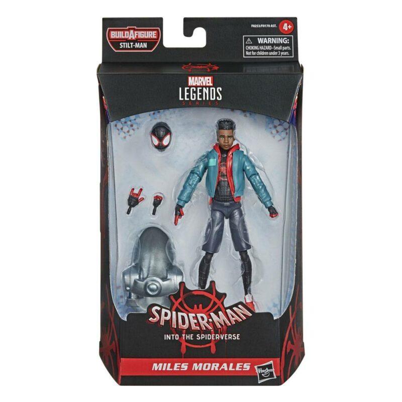 Marvel Legends Series Wave 1 2021 Action Figure Miles Morales (Spider-Man: Into the Spider-Verse) 15 cm