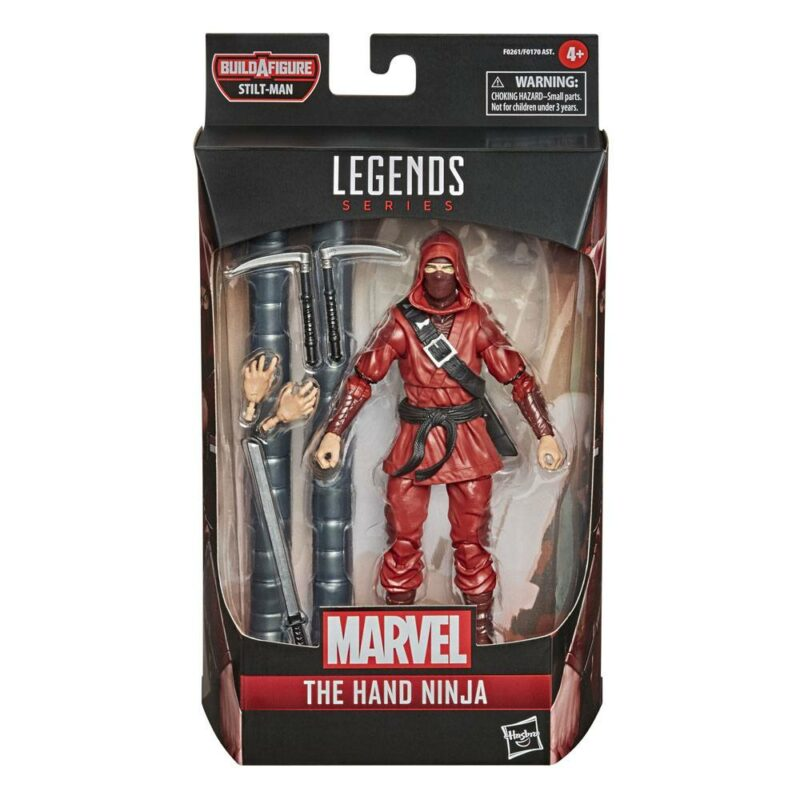 Marvel Legends Series Wave 1 2021 Action Figure The Hand Ninja (Comics) 15 cm