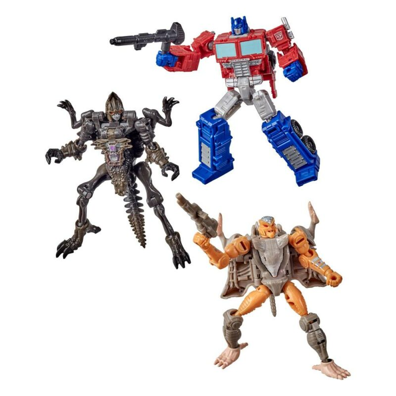 Transformers Generations War for Cybertron: Kingdom Action Figures Core Class 2021 W1 Assortment (3)