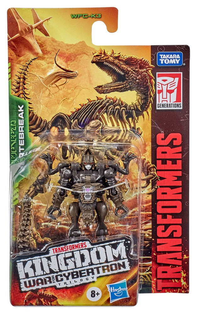 Transformers Generations War for Cybertron: Kingdom Core Class 2021 W1 Action Figure Vertebreak 9 cm