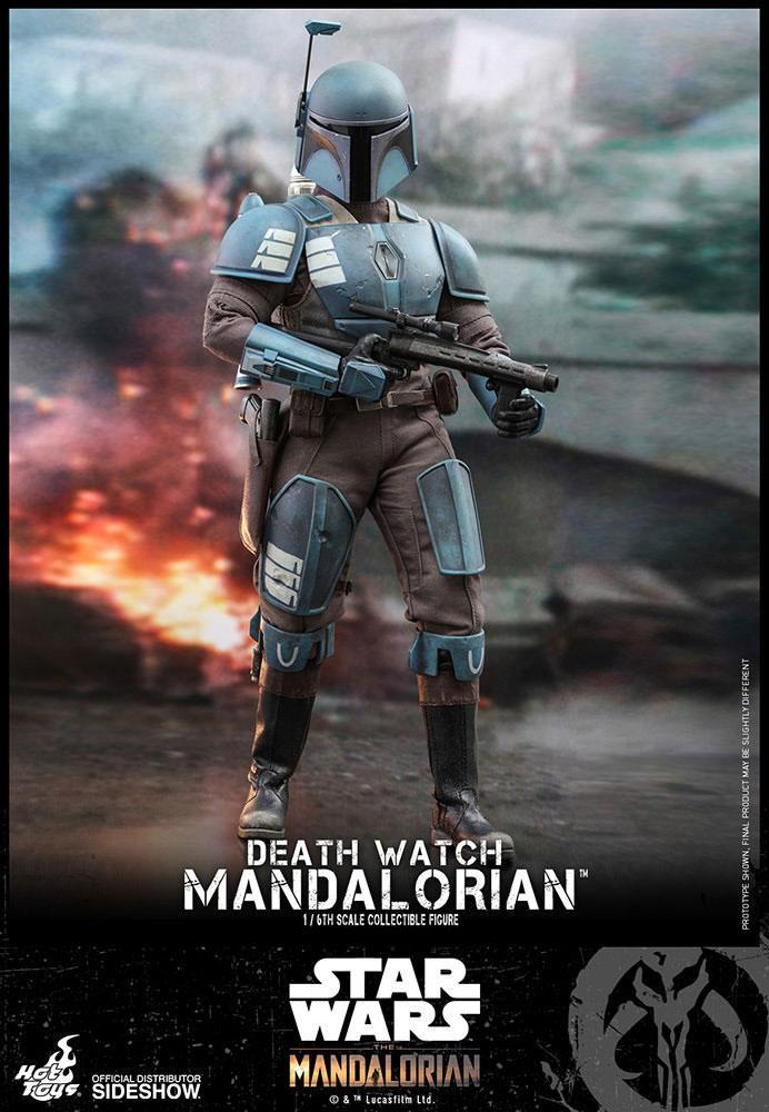 Star Wars The Mandalorian Action Figure 1/6 Death Watch Mandalorian 30 cm